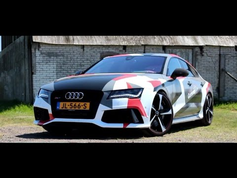700HP Audi RS7 Sportback Review | Hartvoorautos.nl | English Subtitled