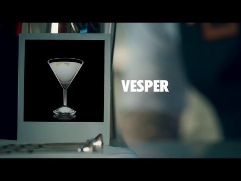 VESPER DRINK RECIPE - HOW TO MIX