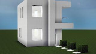 Minecraft - Como fazer uma pequena Casa Moderna