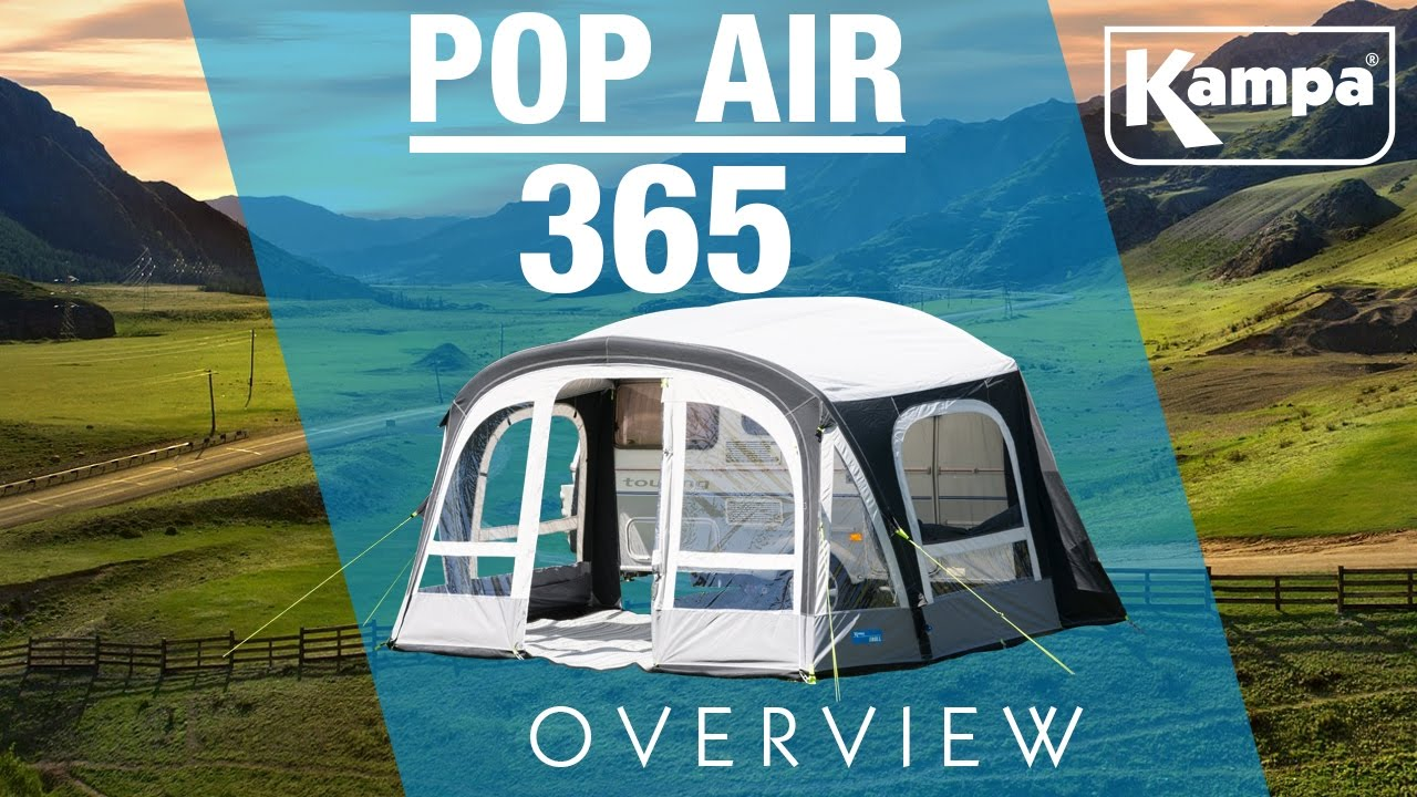 Kampa Pop Air 365 Pro Overview Youtube