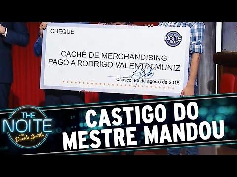The Noite (05/08/15) - Castigo Mestre Mandou: Perdedor Não Merece Cachê
