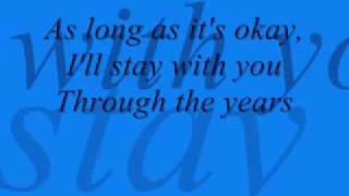 through the years lyrics