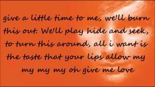 Download Mp3 Give Me Love Karaoke/instrumental With Lyrics