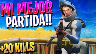 MY BEST PARTY WITH THE NEW SKIN OF THE TIBURON!! +20 KILLS ? FORTNITE: Battle Royale ? Rubinho vlc