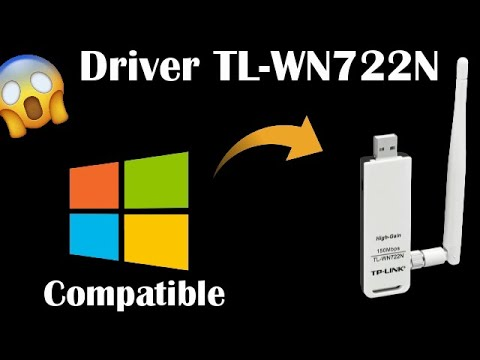How to Install the Driver TL-WN722N●Without CD-Compatible for Windows  7-8-10-Vista-XP●ᴴᴰ
