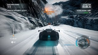 Need For Speed The Run: Stage 5 Campaign The Rockies [Extreme Difficulty]  w/ Tier 6 Hypercars