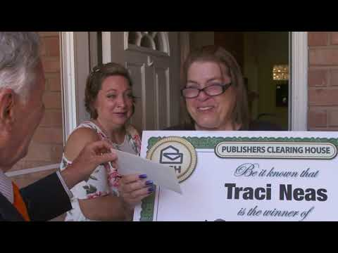 Publishers Clearing House Winners: Traci Neas From Mansfield