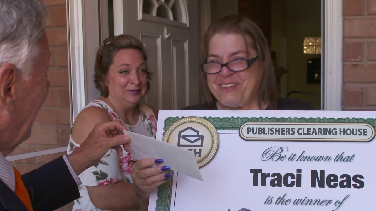 Publishers Clearing House Winners: Traci Neas From Mansfield, TX Wins  $20,000