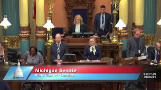 Sen. Barrett opens Michigan Senate session with invocation