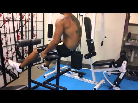 Roman Chair Exercises : Sept 3 2014