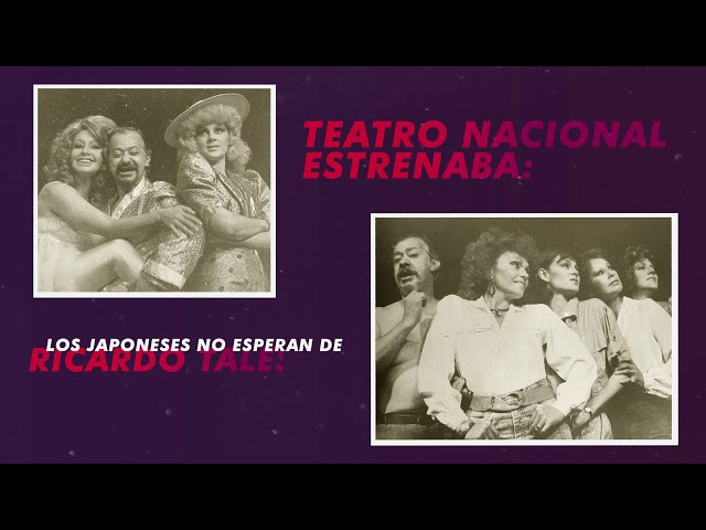 #NostalgiaTeatral 1985
