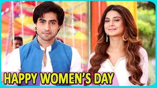 Happy Women's Day: Jennifer Winget & Harshad Chopra Convey A Special Message | Exclusive