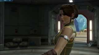 SWTOR Young Satele Shan at arrives at training ground(Jedi Consular story beginning)