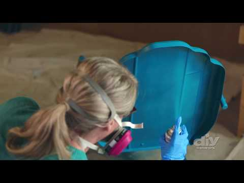 How to Paint Metal Furniture - DIY Network