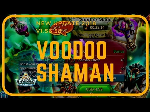 Lords Mobile: Voodoo Shaman (New Game Update 2018)