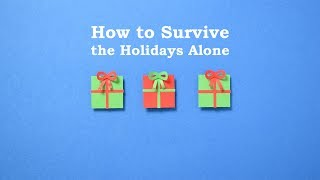 vuclip How to Survive the Holidays Alone | Loneliness at Christmas | Stop motion animation
