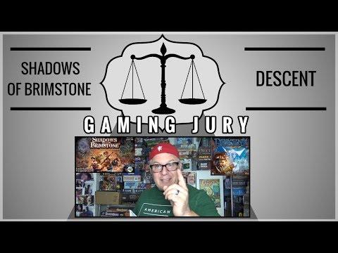 Gaming Jury: Shadows of Brimstone VS Descent