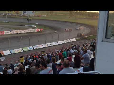 2017 August 24 Red River Valley Speedway Late model Heat