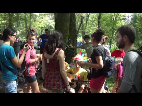 Scout Camp in Lagodekhi, July, 2011, video #2