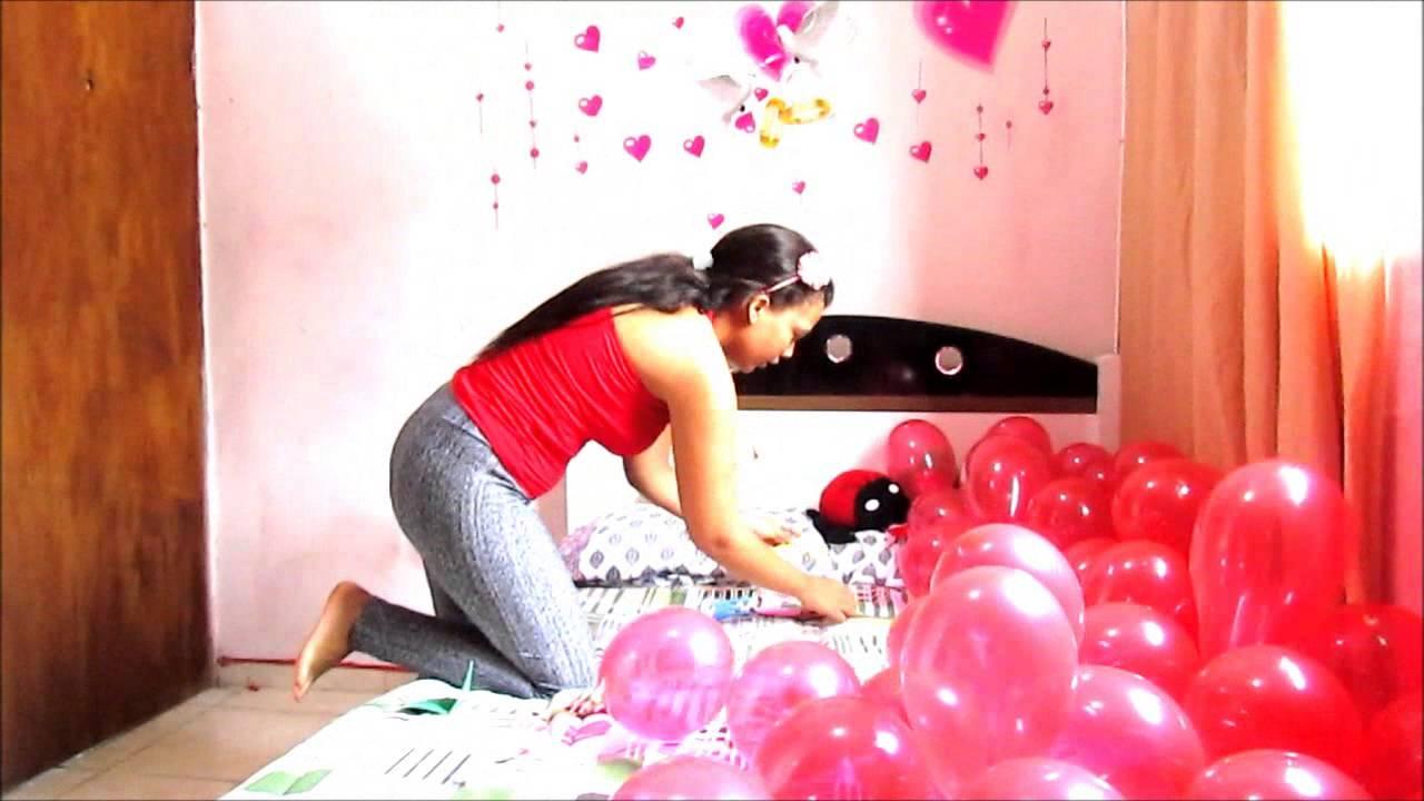 Surpresa de Aniversário Decorando o quarto YouTube