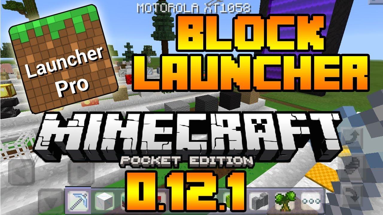 Block Launcher Minecraft Pe 0.12.1 - YouTube