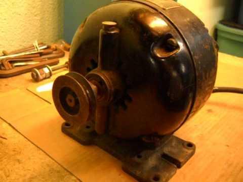 Vintage Master Electric Motor