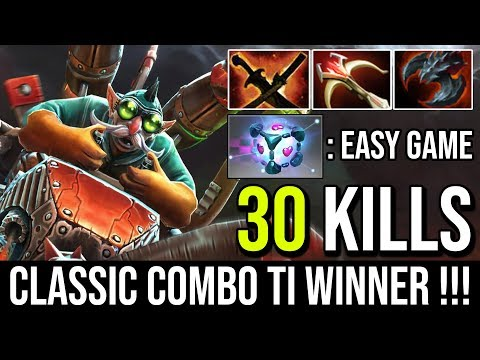 The Old Combo is Still Good   Gyrocopter + IO Teleport EveryWhere 30Kills By TI Winner Ceb Dota 2