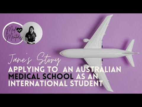 Applying To An Australian Medical School As An International Students