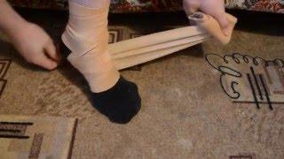 видео Бинт компрессионный Лаума / Lauma, 3,5м х 10 см, эластичный, медицинский, для лечения венозных воспалений, спорт-травм