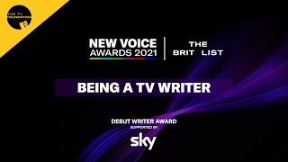 Being a TV Writer   New Voice Awards 2021   Edinburgh TV Festival
