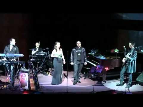 Аня Воробей и Рок Острова Встреча Концерт в ЦДХ 15 04 2010