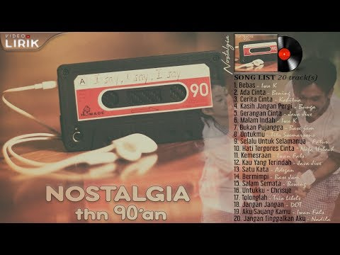 Lagu Yang NgeHITS di Indonesia tahun 90an [ LIRIK ] Mp3