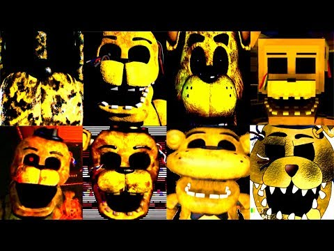 20 GOLDEN FREDDY JUMPSCARES!! | FNAF & more