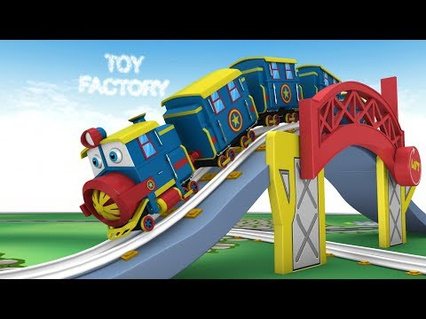 Thomas Cartoon - Trains - Toy Factory Cartoon - Trains for Kids -  Toy Train Cartoon - Toys for Kids