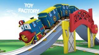 Thomas Cartoon Trains Toy Factory Cartoon - Trains for Kids Toy Train Cartoon - Toys for Kids