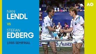 AO Classics: Ivan Lendl v Stefan Edberg (1985 SF)