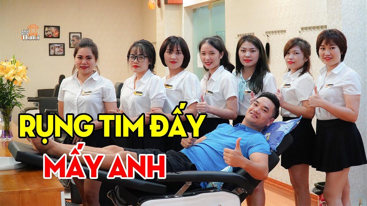 CẮT TÓC GỘI ĐẦU KIỂU NÀY - ĐÃ LÀM MẤY ANH RỤNG TIM CHƯA #HNP