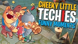Cheeky Little Techies - DotA 2 Funny Moments