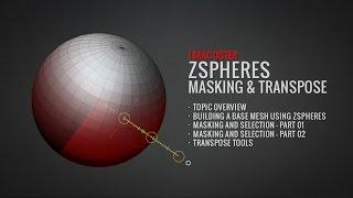 BadKing de Zspheres, ZBrush Maskeleme ve Devrik (Tam Öğretici.com.au)