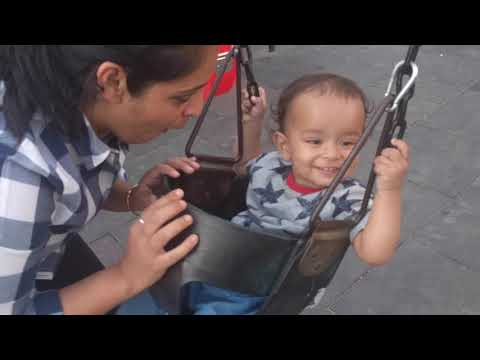 He Is Not Too Fond Of The Swing | KabirPayet | At 13 Months