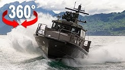 Armee Einsatz auf dem See | 360°-Video auf dem P16 | Blick VR
