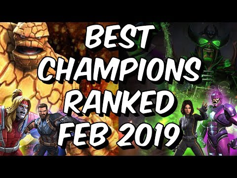 32326d3dfd30 Best Champions Ranked February 2019 - Seatin s Tier List - Marvel Contest  Of Champions