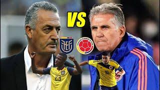 ECUADOR VS COLOMBIA 11 INICIALES CONFIRMADOS SUPER PREVIA | ANÁLISIS Y PREDICCIÓN ELIMINATORIAS
