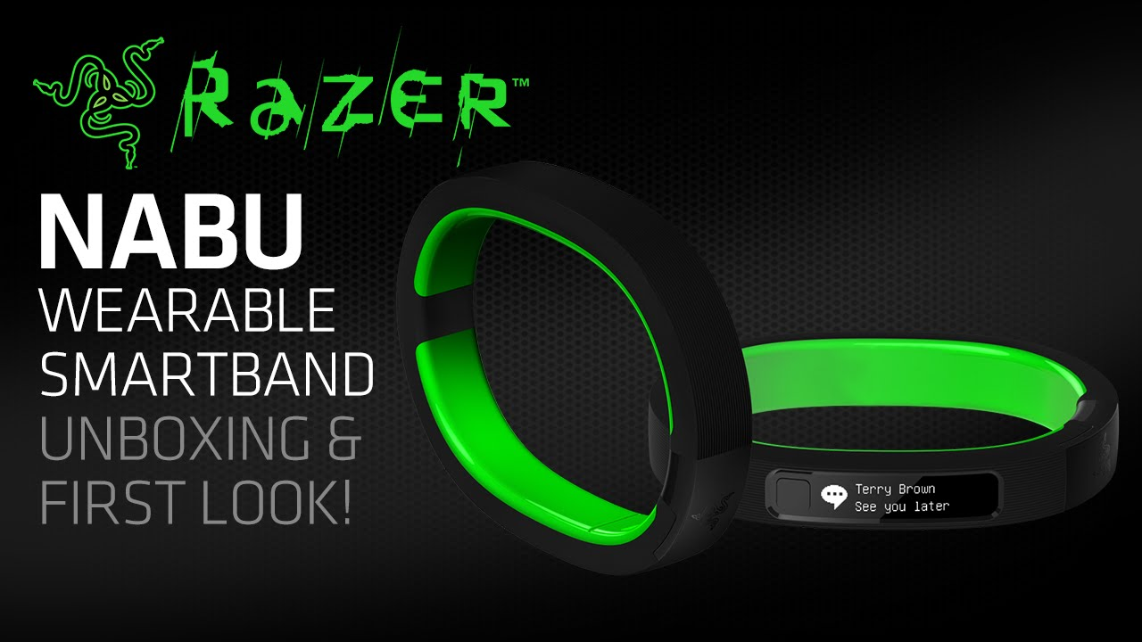 Razer Nabu Wearable Smartband Unboxing & First Look!