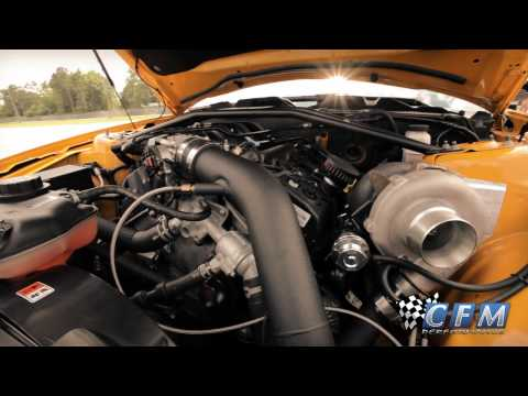 CFM Performance World's Fastest 3.7L V6 Turbo Mustang