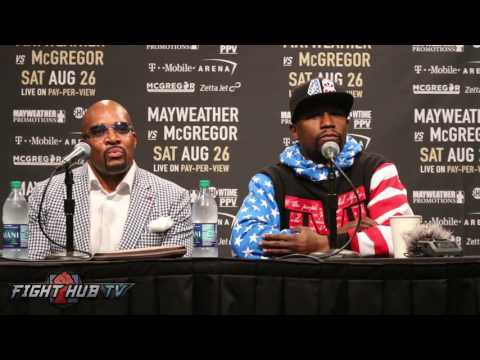 Thumbnail: FLOYD MAYWEATHER CONFIRMS THIS WILL ABSOLUTELY BE HIS LAST FIGHT
