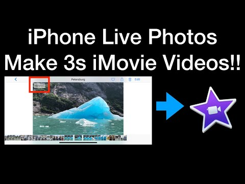 IPhone Live Photo Videos In IMovie