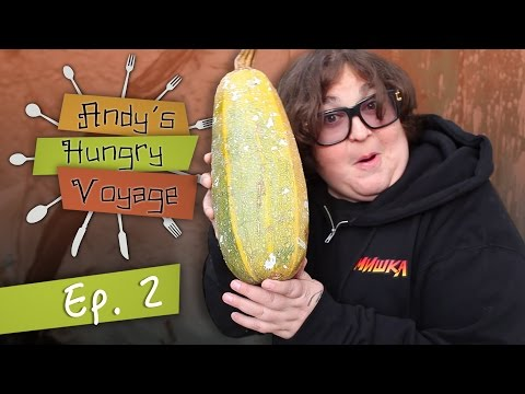 Greek Breakfast w/ Andy Milonakis' Aunt! | Andy's Hungry Voyage