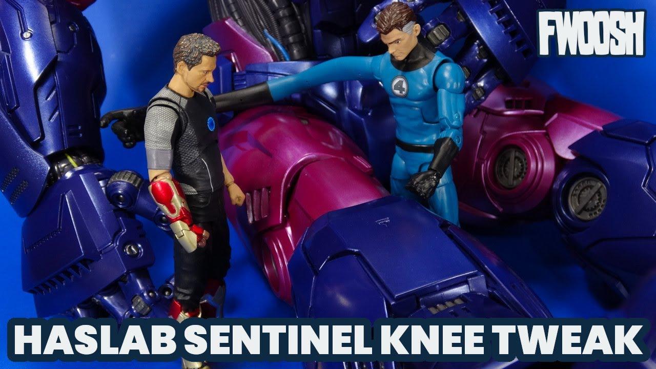 Marvel Legends Sentinel Hasbro Haslab Loose Knee Adjustment
