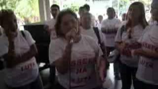 Manifestação da ASSEEC na SEPLAG em Fortaleza 13/01/12